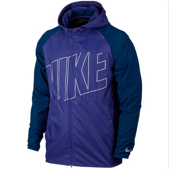 Chaqueta golf Nike Printed Packable Hooded 833316-512
