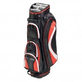 Bolsa de golf carro Silverline Key West Negra Roja