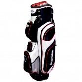 Bolsa de golf carro Longridge Executive Blanca-Negra