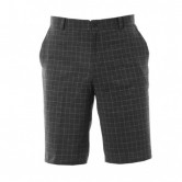 Pantalon corto golf Nike Plaid Negro