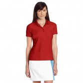 Polo golf Greg Norman Pro-Tek Micropique Cardinal Mujer